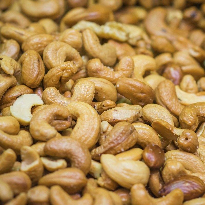 Anacardes noix de cajous rotis