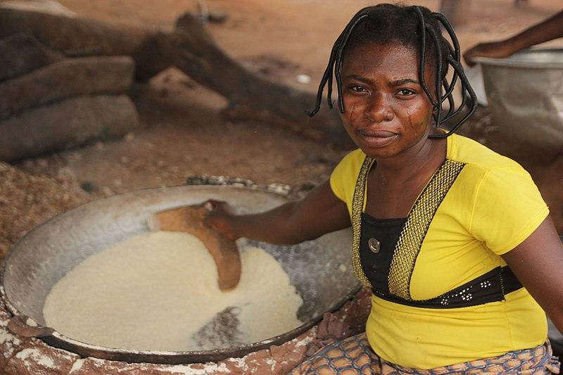 A la découverte du Gari - Visiter-le-benin.com ©