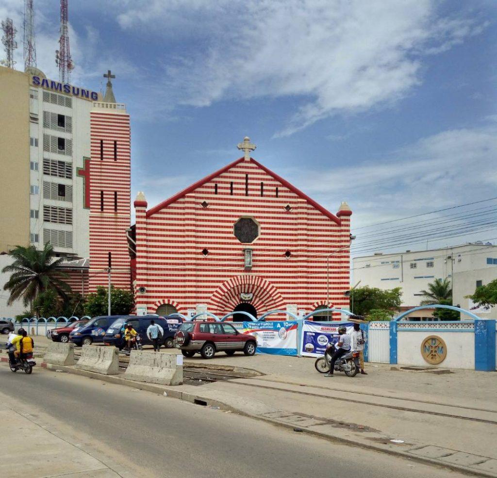 Cathédrale Notre-Dame-de-Miséricorde de Cotonou - © Visiter le Bénin