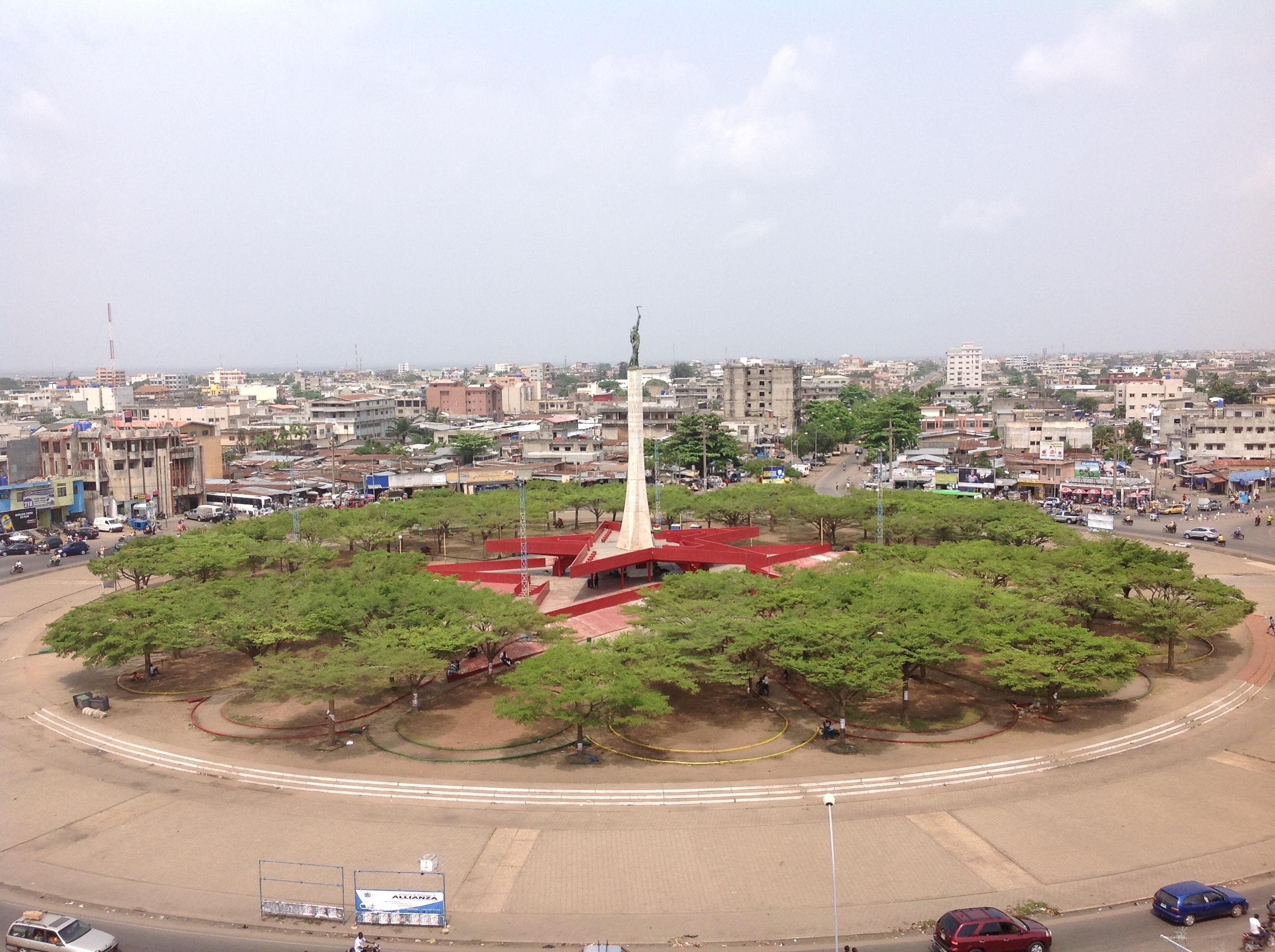 Bénin Cotonou Place de l'Étoile Rouge