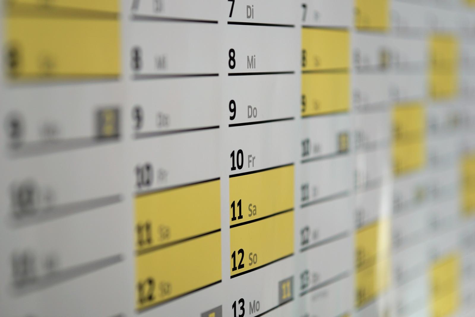 Calendrier Bénin jours fériés
