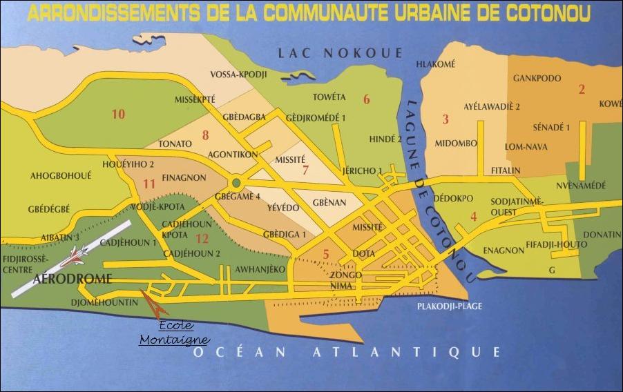 Arrondissements Cotonou