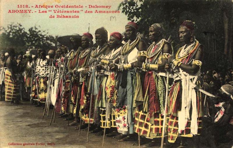 Royaume de Dahomey - Les Amazones – © Visiter le Bénin