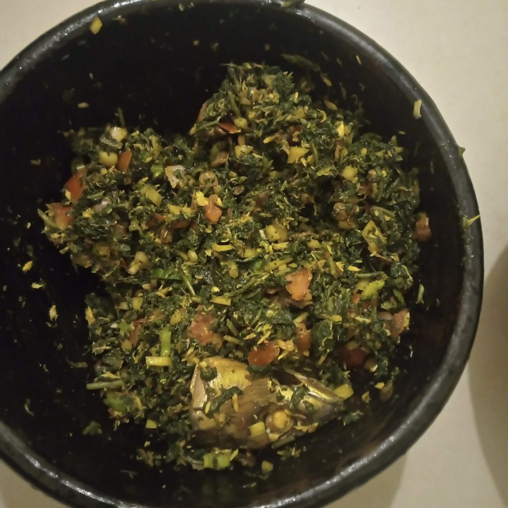 Sauce Gboma - © Visiter le Bénin