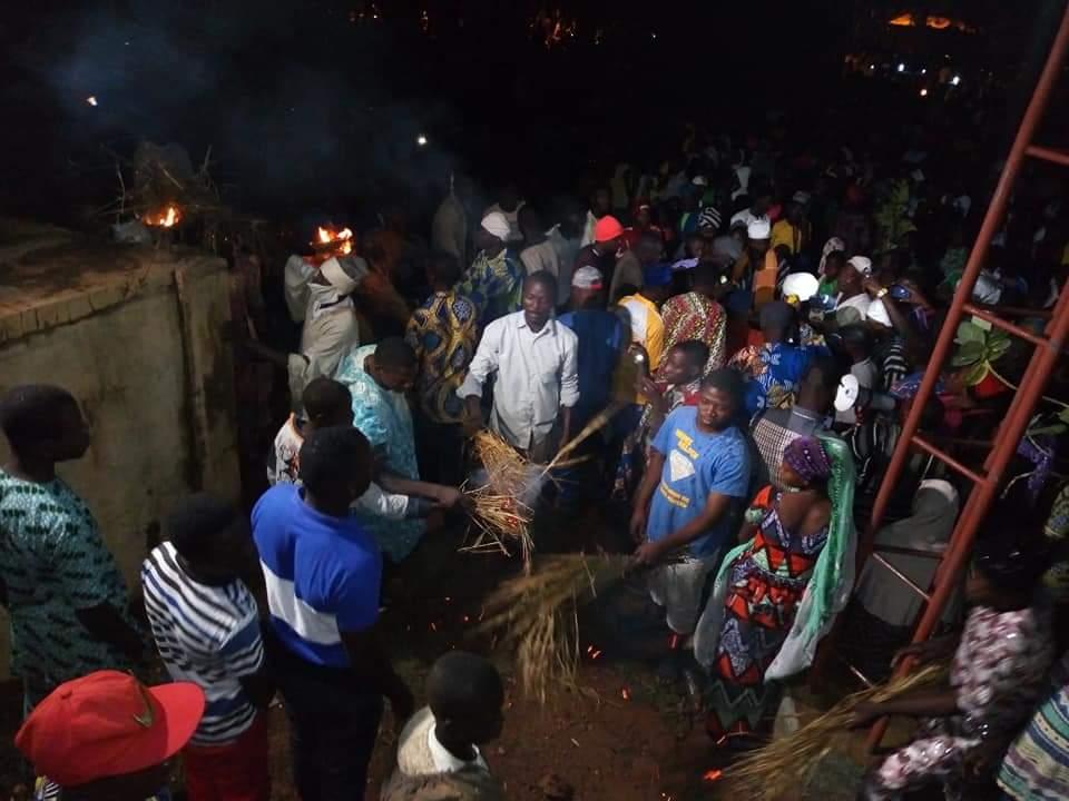 Le Donkourou, la fête du feu - © Visiter le Bénin