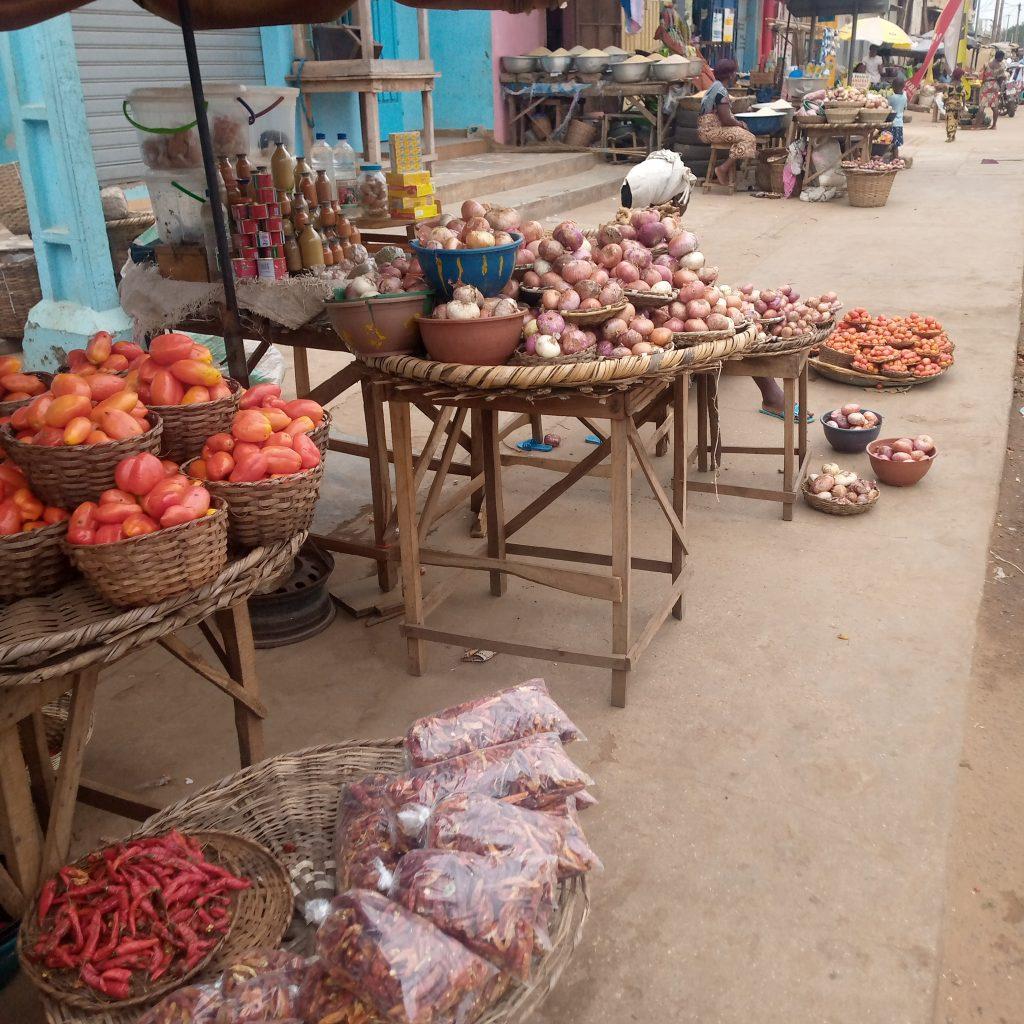 Tomates, oignons et piments - © Visiter le Bénin